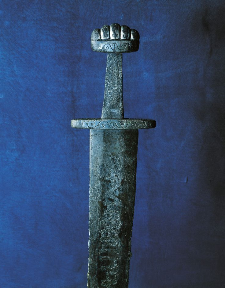 how to draw a viking sword