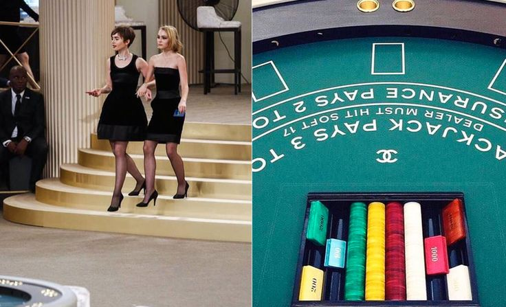 Chanel Hosted A Casino Themed Couture Show | Fashion News | Grazia Daily