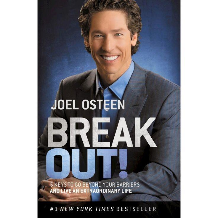 Break out paperback by joel osteen joel osteen