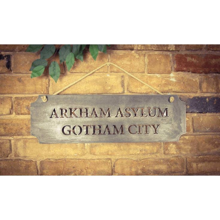 For all Batman fans and the looneys of Gotham City Asylum - this is the ultimate Batman Wall Decal accessory for the man who has everything.