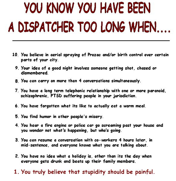 Dispatcher too long.........