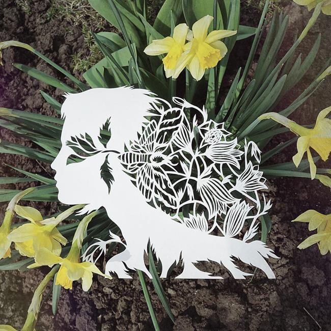 Kağıt Kesme Sanatıyla Moda İllüstrasyonları Tasarlayan Sanatçı: 'Eugenia Zoloto' Sanatlı Bi Blog 18