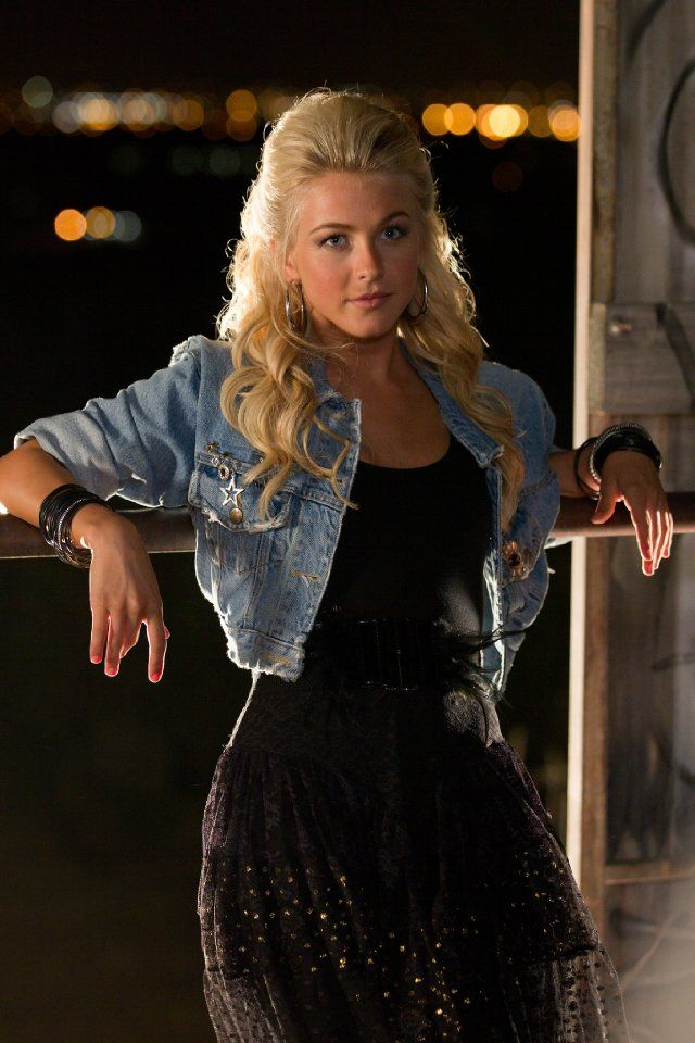 Julianne Hough as Sherrie Christian in Rock of Ages 2012  She makes the movie great..!