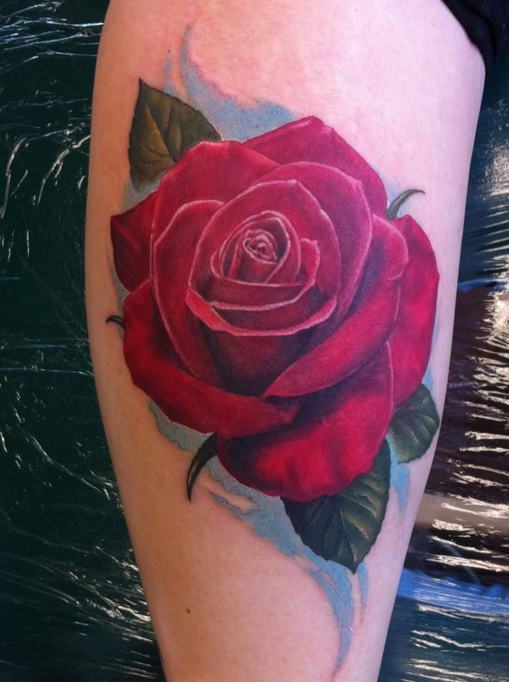 The 25 best ideas about rose tattoos on pinterest for Cool rose tattoos