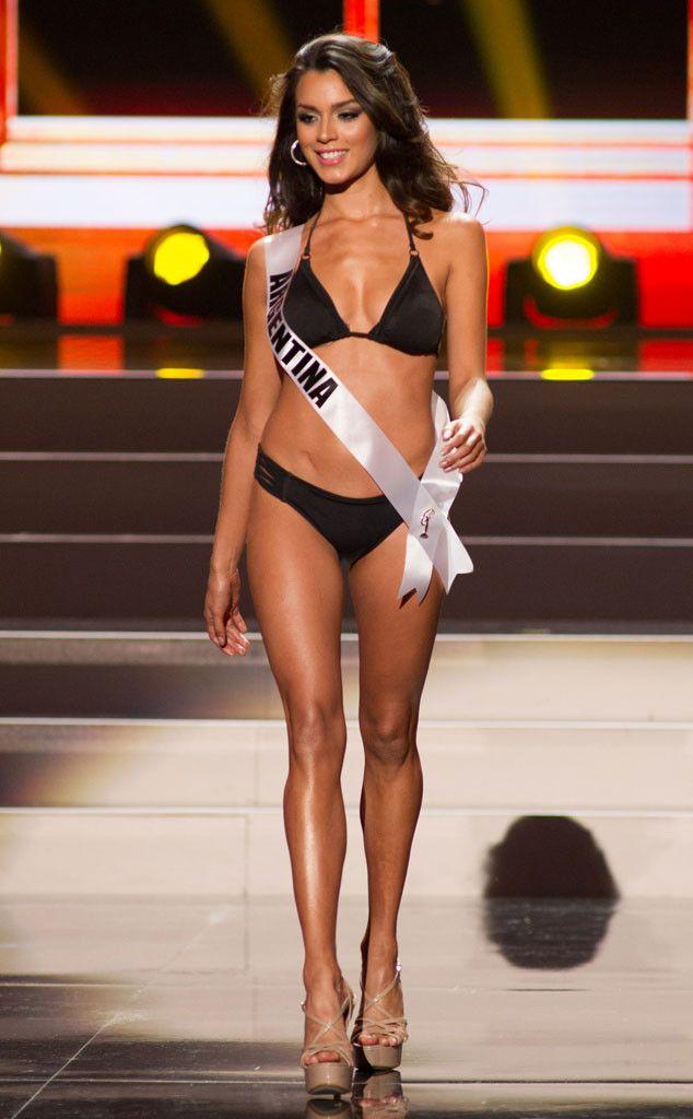 la bailarina de tinelli, cuando fue miss universe argentina 2013.