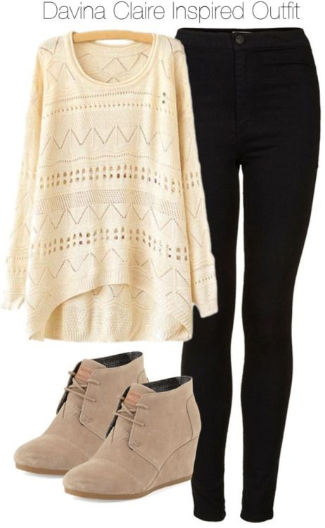 toms wedges with skinny jeans - Google Search