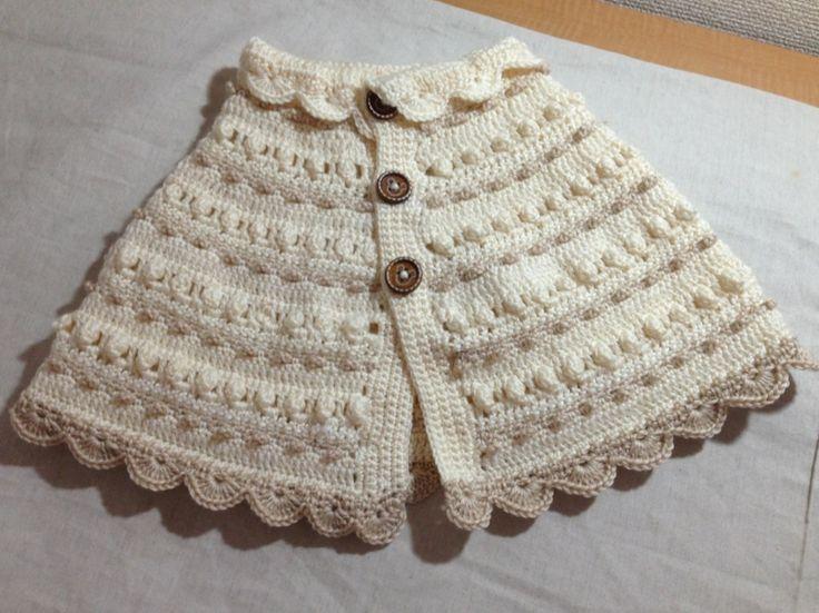 赤ちゃんケープ*BABY!の作り方 編み物 編み物・手芸・ソーイング アトリエ