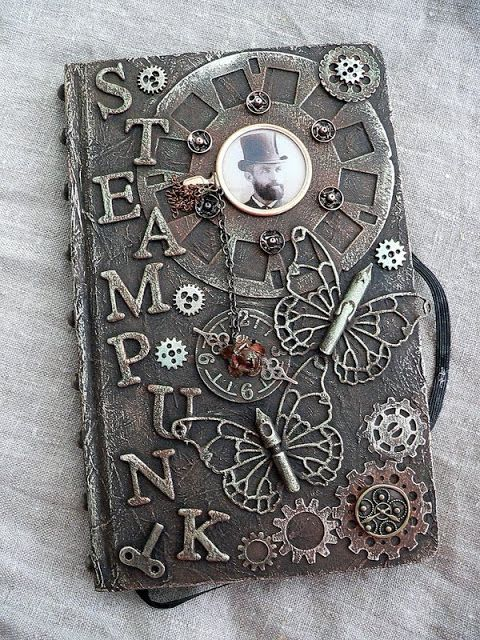 Steampunk Book Cover Diy ~ Best ideas about steampunk book on pinterest heart