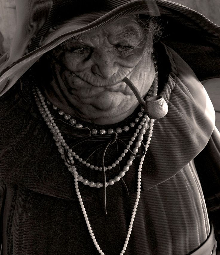 Nanny Ogg. 3D Artist Dmitrij Leppée (2010). Credit also to Paul Kidby & Josh Kirby the original illustrators. http://dmitrijleppee.carbonmade.com