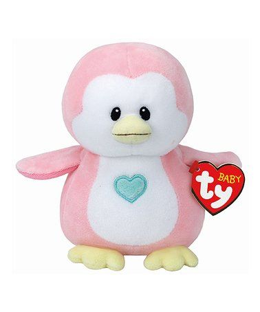Loving this Pink Penny Penguin Baby Ty Plush Toy on #zulily! #zulilyfinds