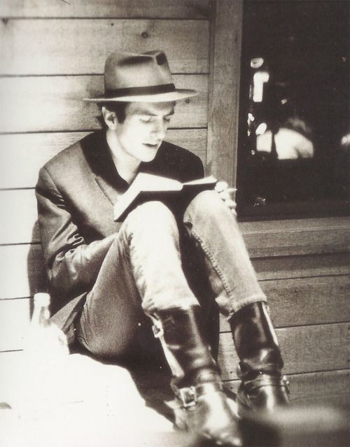 I really love this photo of Joe Strummer!