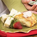 Turkey Finger Sandwiches Recipe | MyRecipes.com