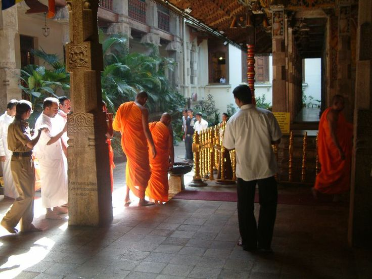 Temple de la Dent - Kandy / Sri Lanka