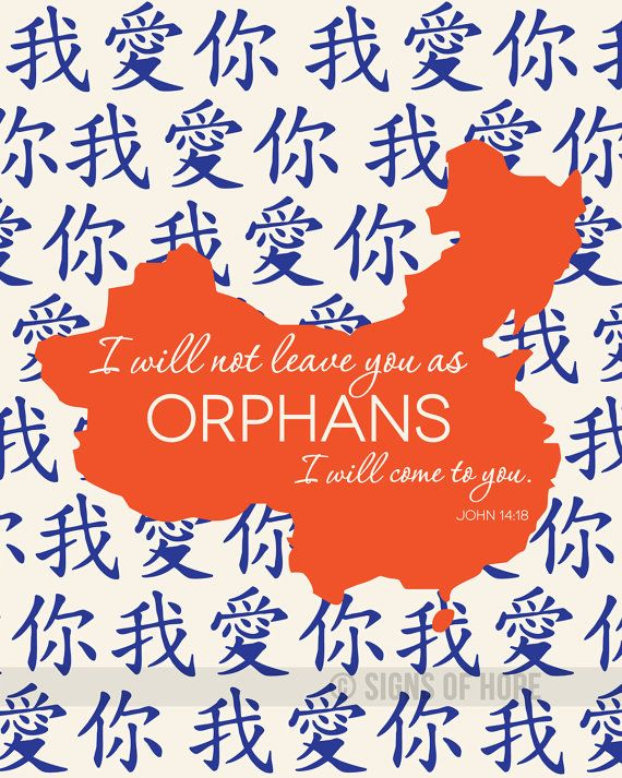I Will Not Leave You as Orphans