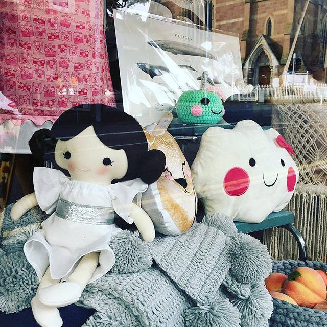 This has got to be one of the cutest #WindowWednesday posts we've done in a while... Just look at that Princess Leia doll! You'll find this display at @lily_and_dot in Hobart, Tasmania.