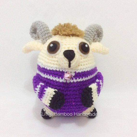 PATTERN  Goat The 12 Zodiac Egg  Crochet by LittleBambooHandmade