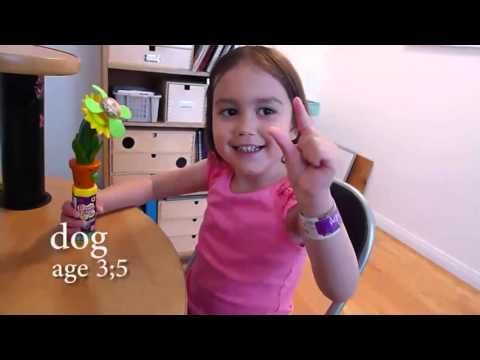 Kid's ASL sign for DOG | HandSpeak