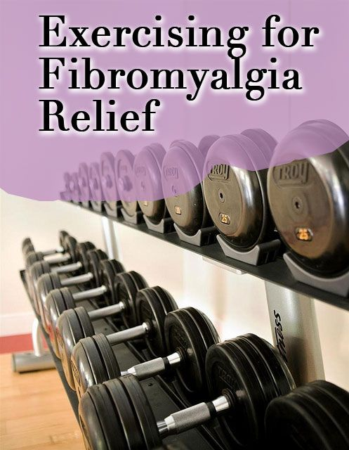 Some of the simplest undertakings such as unloading the dishwasher or vacuuming floors can cause major muscle discomfort and bring on Fibromyalgia symptoms. However, adding some simple exercises such as light free weights and aerobics can greatly improve how the body reacts to Fibromyalgia triggers.  Weight training ca