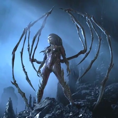 Sarah Kerrigan - best character in StarCraft and StarCraft II