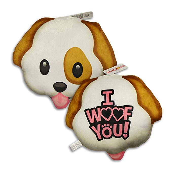 Novelty Inc Soft Stuffed Emoji Love Pillows For Valentine S Day
