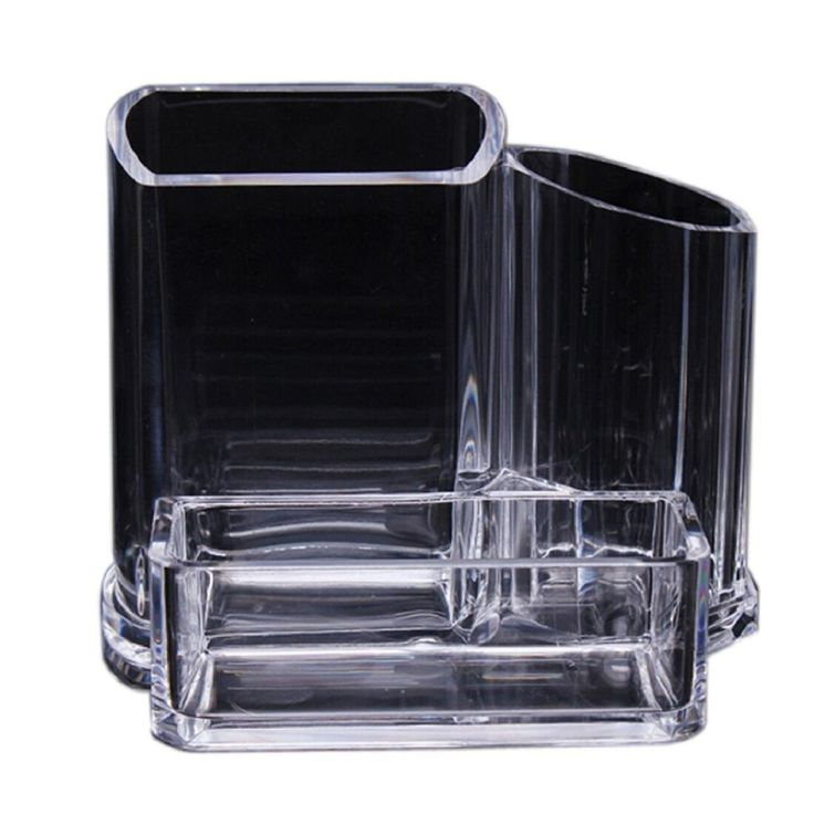 Susenstore Clear Acrylic Makeup Cosmetic Organizer Lipstick Brush Display Holder Stand. Susenstore Clear Acrylic Makeup Cosmetic Organizer Lipstick Brush Display Holder Stand.