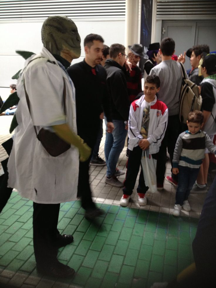 Cosplayer #romics Roma