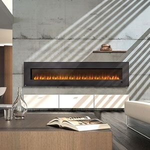 Napoleon 100-Inch Slimline Wall Mount Electric Fireplace EFL100