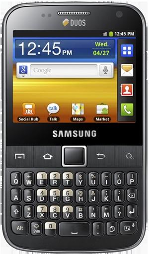#Samsung #Galaxy Y  Pro Duoz