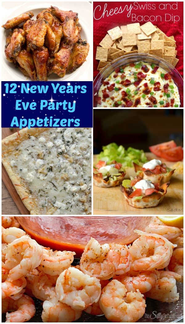 12 New Years Eve Party Appetizers {The Weekly Round UP} - This Silly Girl's Life