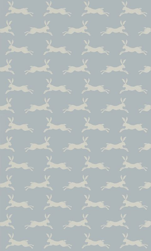 March Hare Aqua från Jane Churchill Want this to be my wallpaper for my room.