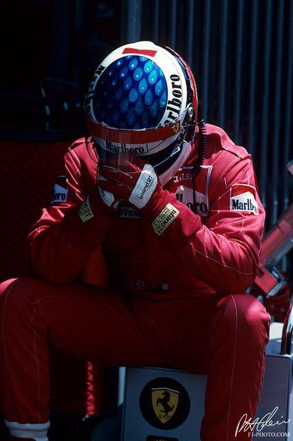 Jean Alesi, Monaco Grand Prix 1995 - it was never easy being an Alesi fan!