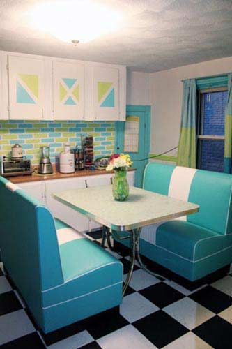 Retro Kitchens | Pictures of Retro Decor | Retro Design Ideas for Your Kitchen