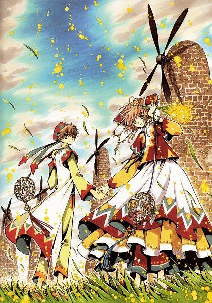 Tags: Anime, Tsubasa: RESERVoir CHRoNiCLE, CLAMP, Scan, CLAMP - Tsubasa Album de Reproductions