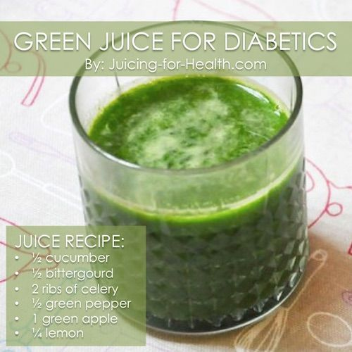 A fellow juicer shared that he has been taking a tablet every night to control his blood sugar level. But, since he started juicing, he's been drinking this juice recipe every day. He's happy to say that after three weeks he could give up his tablet and his sugar level was stable. * * …