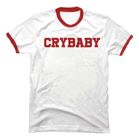 Cry Baby Red Ringer T-shirt