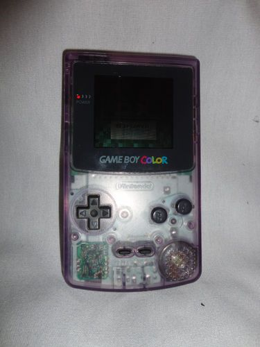 Game Boy Color CGB-001 works w/ tetris DX game fins me at www.dandeepop.com