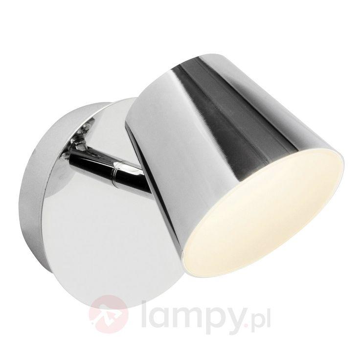 Połyskujący reflektor ścienny LED Torsion 1509181