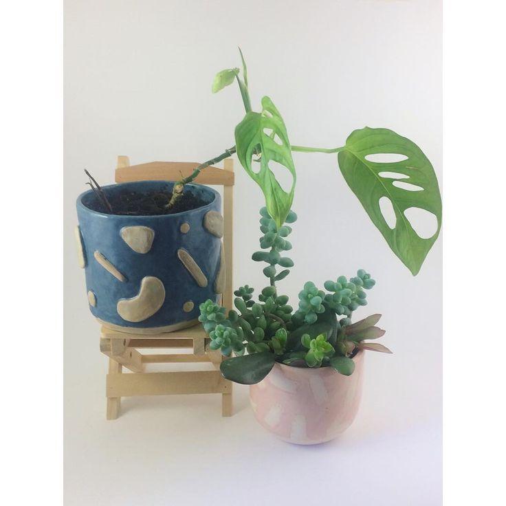 Кашпо керамическое ручной работы Handmade ceramic planter
