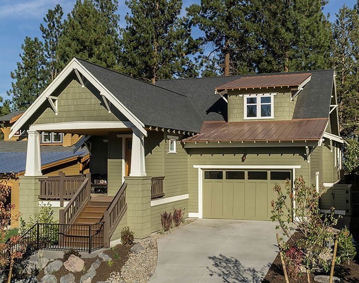 109 Best Images About Craftsman House Plans On Pinterest
