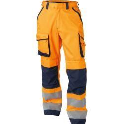 3/4 High visibility trousers Mascot Natal En 20471 2.2 orangeModyf