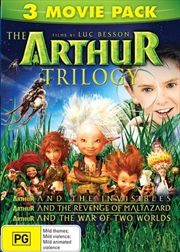 Arthur and The Invisibles | Triple Pack