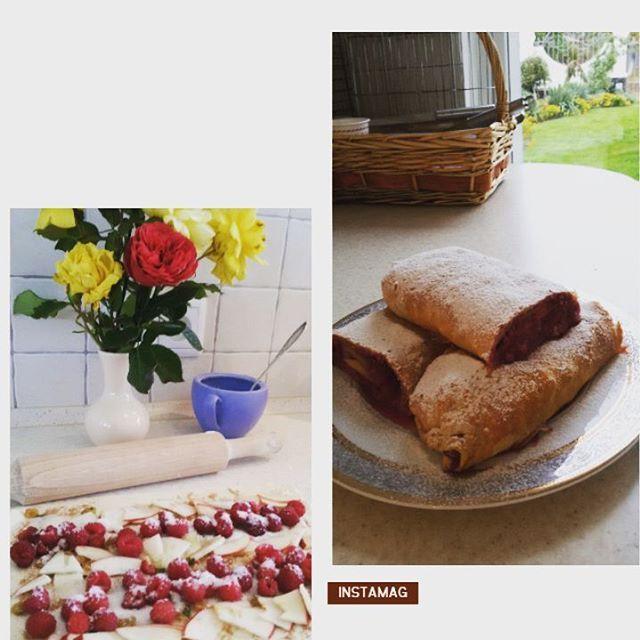 Сезон малины продолжается! Кто хочет штрудель с яблоками, малиной и изюмом - съезжайтесь на треню к @nikolay_sikachina Он угостит! может быть 😉  #сдобрымутром #завтрак #штрудель #фрукты #ягоды #витамины #вкусноиполезно #чай #жизньпрекрасна #зож #люблюготовить #вкусняшка #впереди #тренировка #спортзал #happymorning #breakfast #strudel #desert #cooking #omnomnom #tea #tastyfood #goodeat #haveagoodday #training #fitness #lifeisgood #insta  Yummery - best recipes. Follow Us! #tastyfood