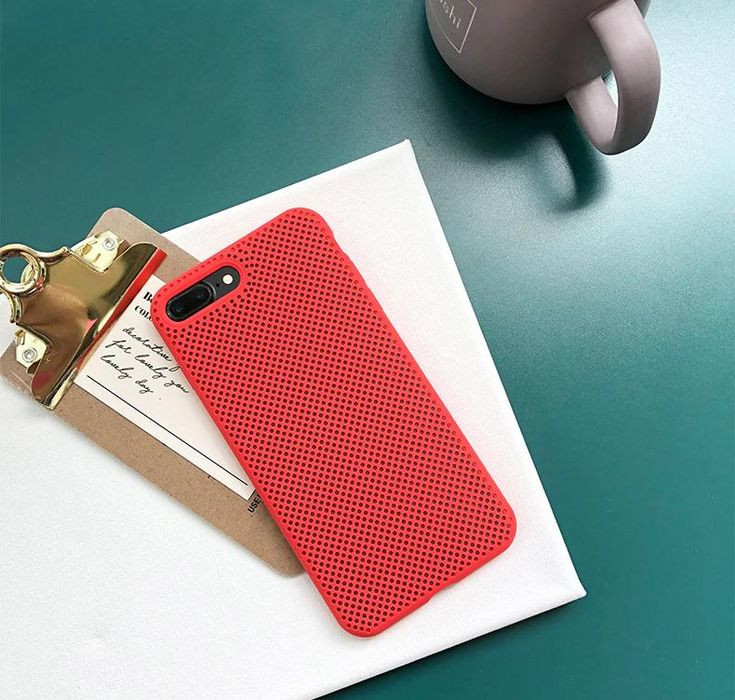 Cool mesh case for iphone x xr 7 8 6s plus liquid silicone