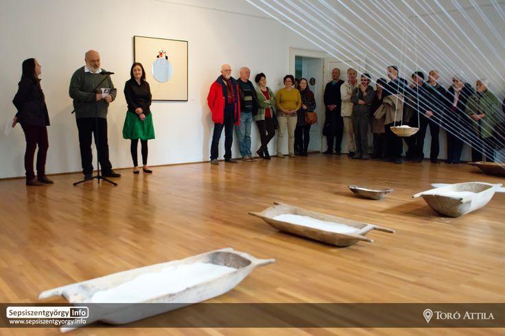 Szabó Réka képzőművész kiállítása a Lábas Házban