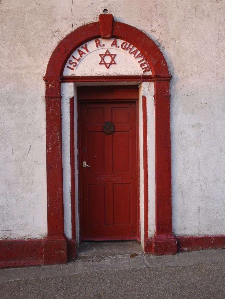 A Masonic Lodge in Islay, Scotland | Masons | Pinterest