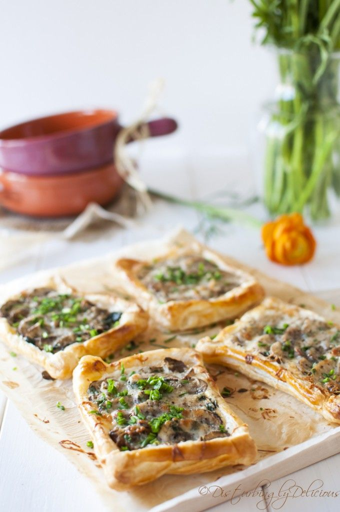Disturbingly Delicious - Mini Mushroom Tarts well not me of course but the guest will enjoy