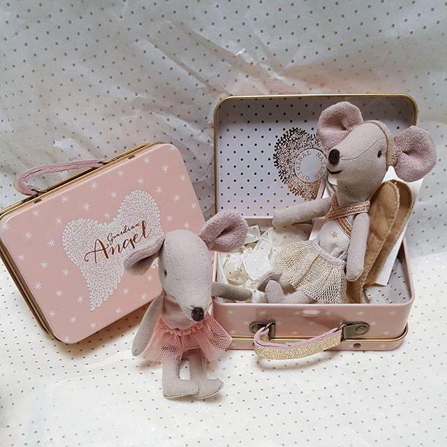 Unsere süßen Maileg Mäuse sind Zucker für die Seele! ❤  #beiunsimshop #maileg #maus #mailegmaus #schutzengel #angelmouse #köfferchen #metallkoffer #bellissimolädchen #bellisimowebshop ➡ www.bellissimo-webshop.de