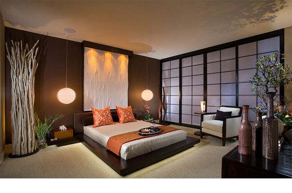 buddhist inspired bedroom - Google Search