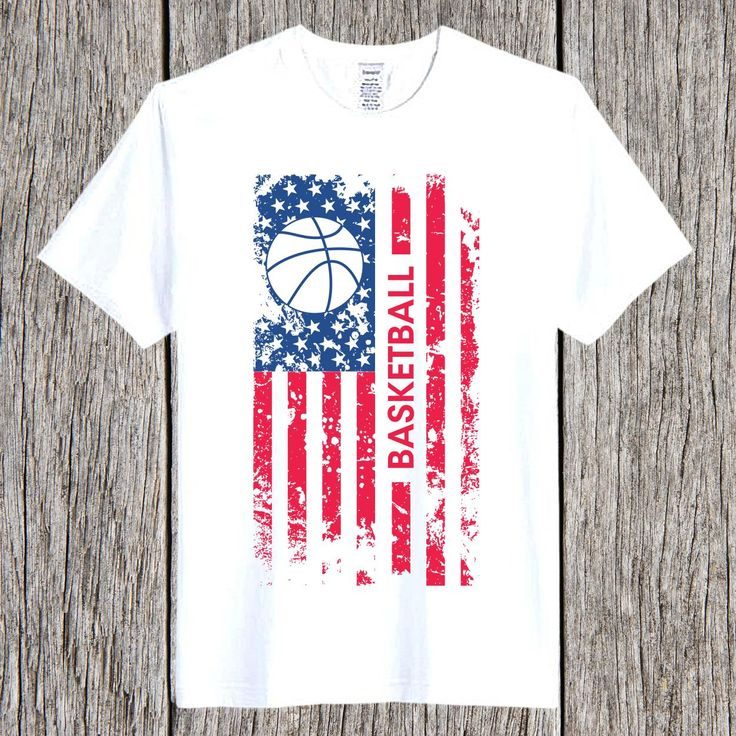 Basketball Lovers Patriotic American Flag Great gift for Independence Day 4th of July and USA Merica national holidays! Perfect for a 4th of July part…