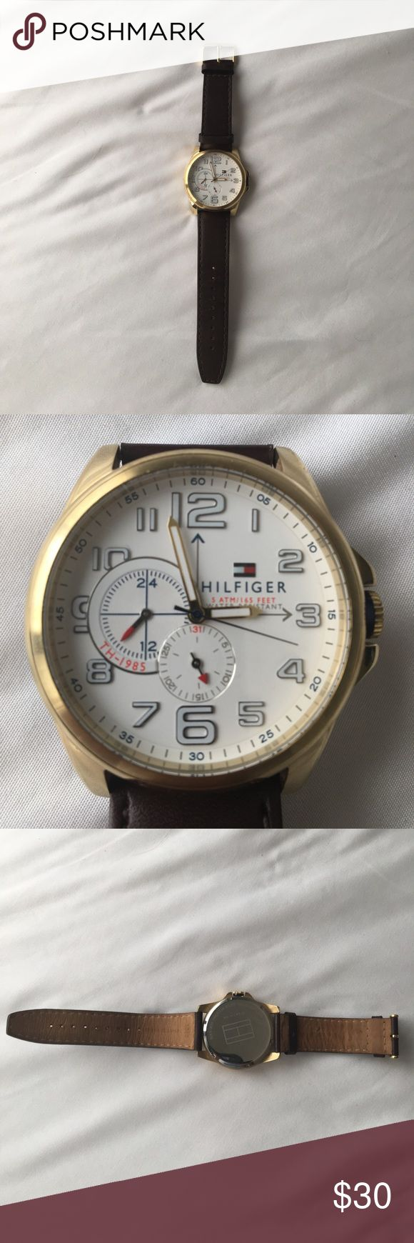 Tommy Hilfiger Watch Gold watch that is very nice and that I've only worn 3 times Tommy Hilfiger Accessories Watches